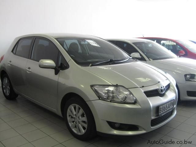used toyota auris 1 6 rs 0 auris 1 6 rs for sale. Black Bedroom Furniture Sets. Home Design Ideas