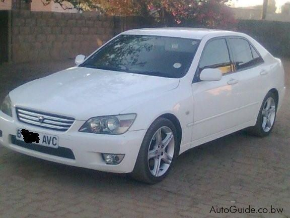 toyota altezza manual for sale
