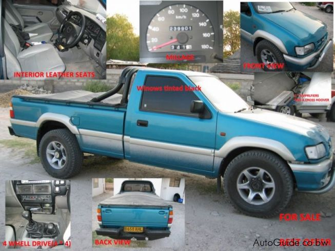Used Isuzu Kb320 V6  Lx Botswana