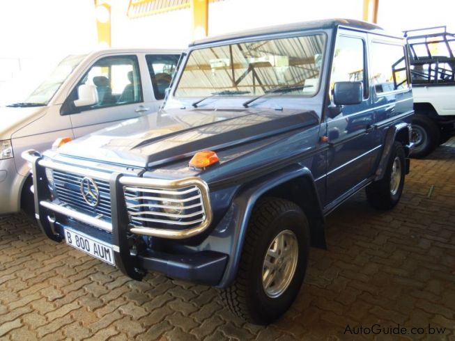 Used mercedes benz g wagon 240 botswana 60000 km 2000 for Mercedes benz g class used 2003