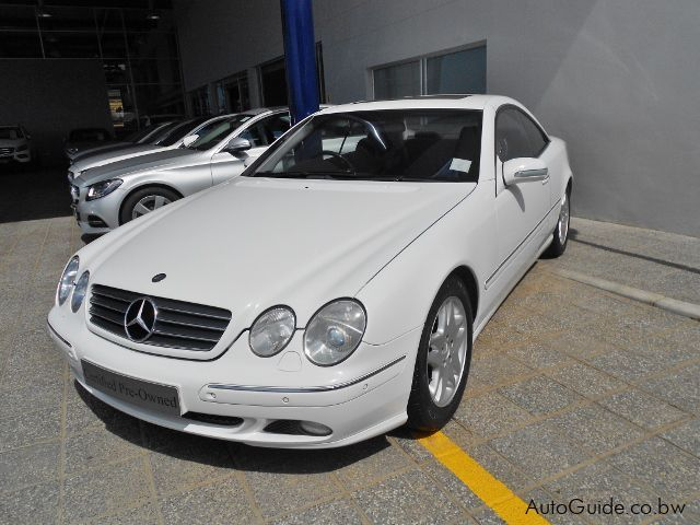 Used mercedes benz cl500 2002 cl500 for sale gaborone for Mercedes benz cl 300 for sale