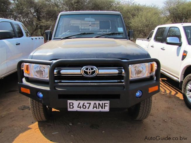 Toyota Land Cruiser in Botswana