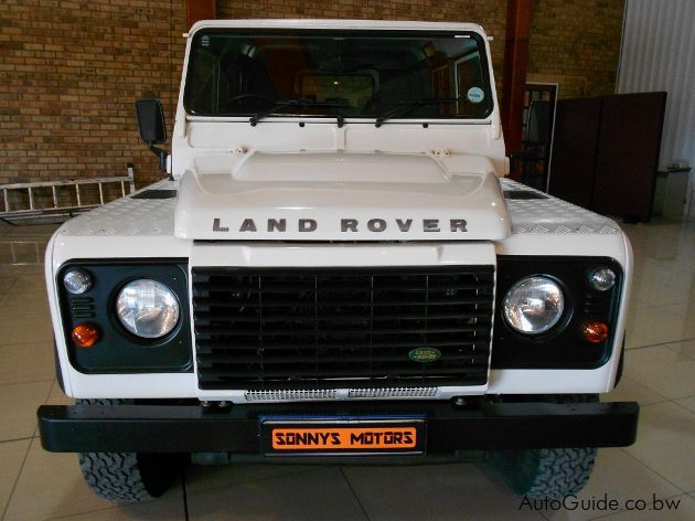 Land Rover Defender  in Botswana