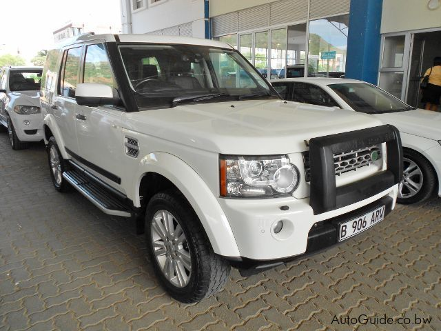 Land Rover Discovery 4in Botswana