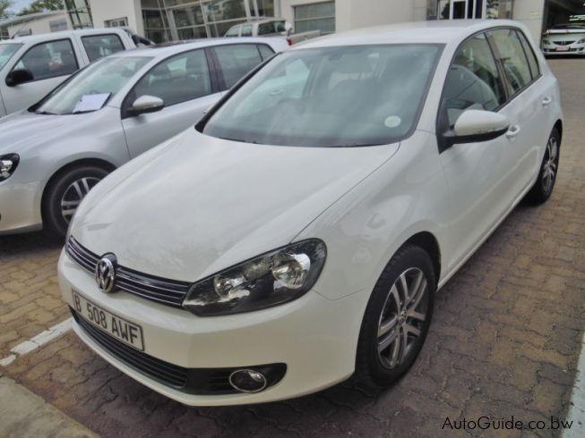 Volkswagen Golf 6 TSi in Botswana