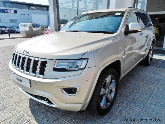 used jeep grand cherokee overland botswana 16000 km. Black Bedroom Furniture Sets. Home Design Ideas