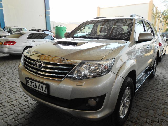 Used Toyota Fortuner 2014 Fortuner For Sale Gaborone Toyota Fortuner Sales Toyota Fortuner
