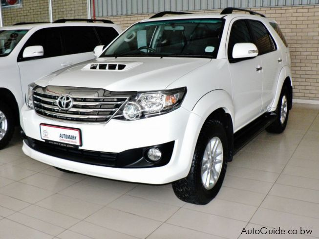 Prado Auto Sales >> Used Toyota Fortuner | 2014 Fortuner for sale | Gaborone ...