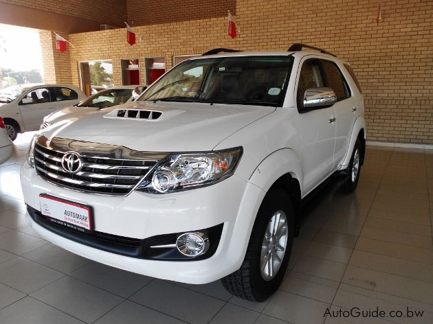 Used Toyota Fortuner 2015 Fortuner For Sale Gaborone