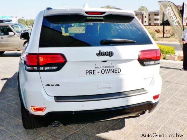 Jeep Grand Cherokee 75th Anniversary Limited in Botswana