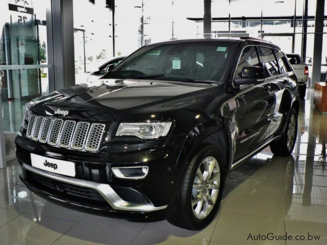 Jeep Summit 2017 >> Used Jeep Grand Cherokee Summit | 2017 Grand Cherokee Summit for sale | Gaborone Jeep Grand ...