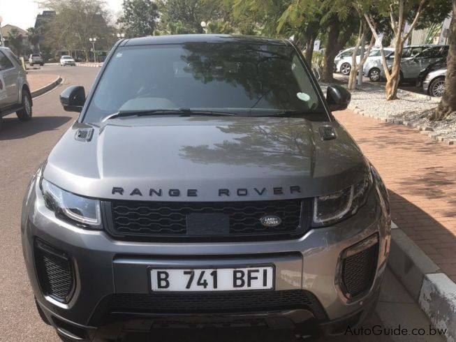 Land Rover Range Rover, Evoque HSE Si4 in Botswana