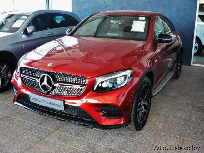 Used mercedes benz glc 43 amg 2017 glc 43 amg for sale for Mercedes benz used vehicles