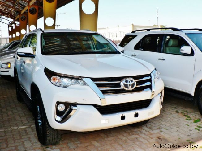 Toyota Fortuner GD6 in Botswana