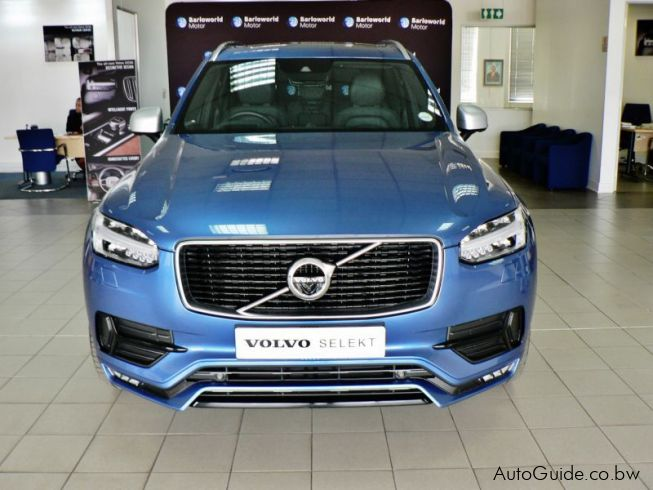 Used Volvo Xc90 T6 Geartronic Awd R Design 2018 Xc90 T6