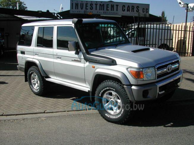 Toyota on Used Toyota Land Cruiser 70 Series Botswana   7 000 Km   2009 Toyota