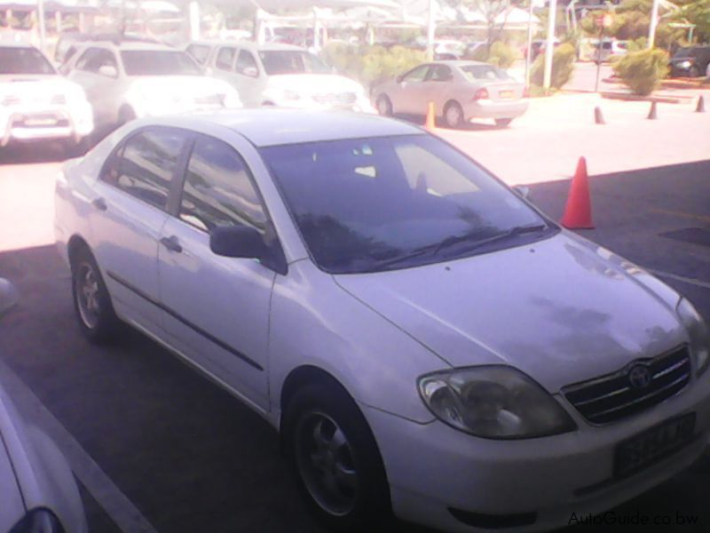 Used Toyota Corrolla 2004 Corrolla For Sale Gaborone