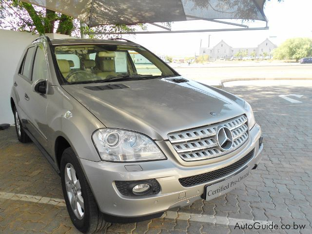 used mercedes benz ml 320 cdi 2007 ml 320 cdi for sale. Black Bedroom Furniture Sets. Home Design Ideas