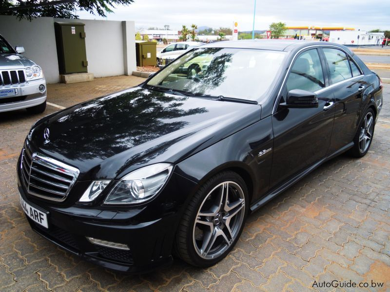Used Mercedes Benz E63 Amg 2011 E63 Amg For Sale Gaborone