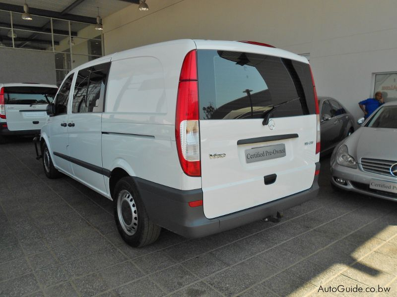 used mercedes benz vito 116 cdi crewcab 2011 vito 116. Black Bedroom Furniture Sets. Home Design Ideas