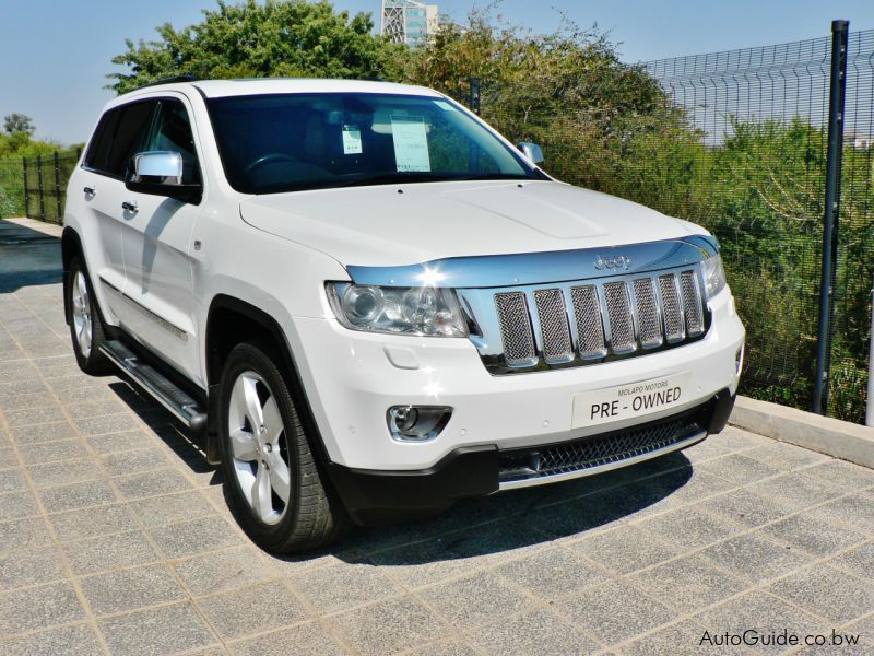 Used Jeep Grand Cherokee Overland CRD | 2013 Grand ...