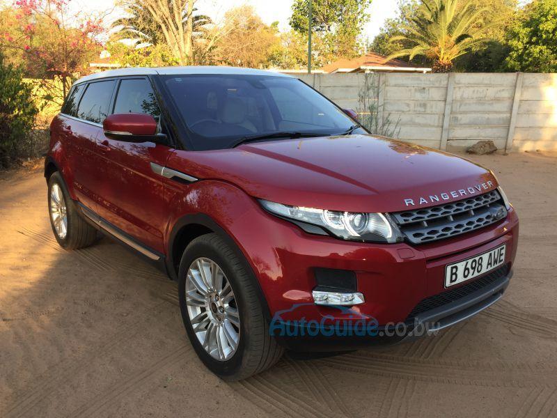 2013 range rover evoque manual