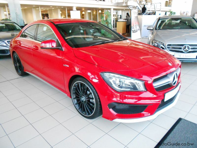 New mercedes benz cla 45 amg 2014 cla 45 amg for sale for Cla mercedes benz for sale