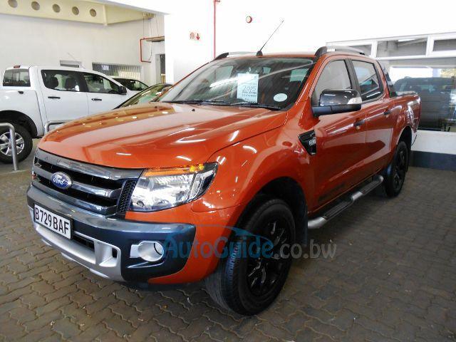 Ford Ranger Wildtrak In Botswana