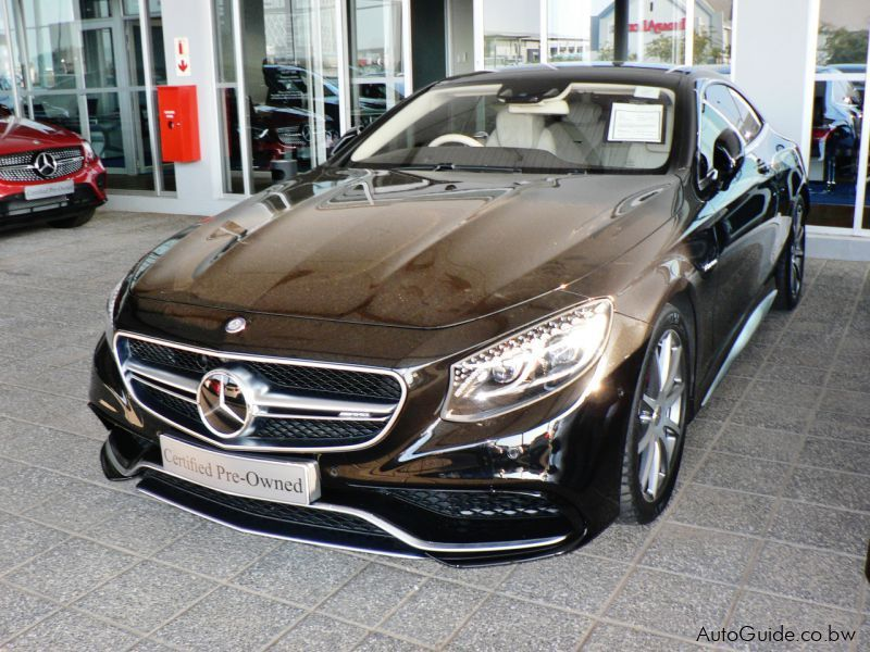 Used mercedes benz s63 amg 2015 s63 amg for sale for Mercedes benz s63 price