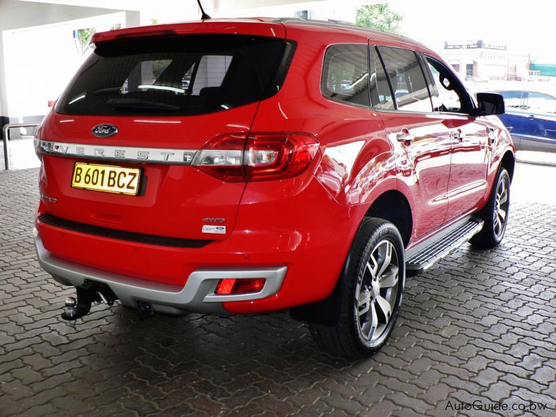 Used Ford Everest Limited Edition 2016 Everest Limited