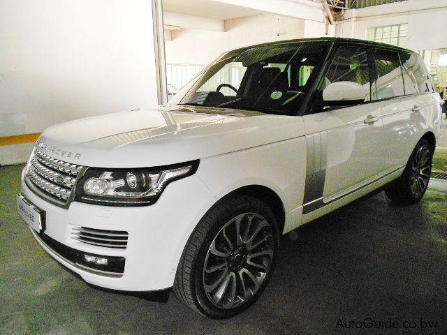 used land rover range rover autobiography 2016 range rover autobiography for sale gaborone. Black Bedroom Furniture Sets. Home Design Ideas