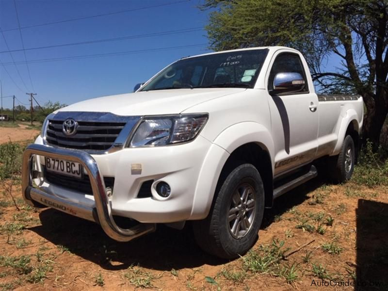 Pre-owned Toyota Hilux Legend 45 for sale in