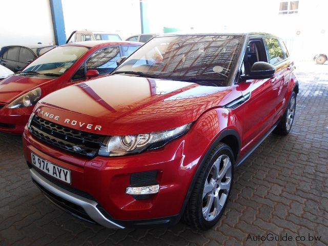 Pre-owned Land Rover Range Rover Evoque for sale in Gaborone