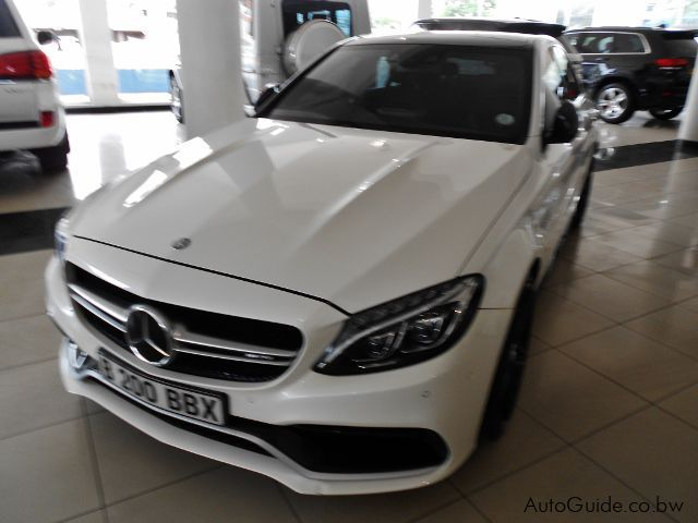 Pre-owned Mercedes-Benz C63 S AMG for sale in Gaborone
