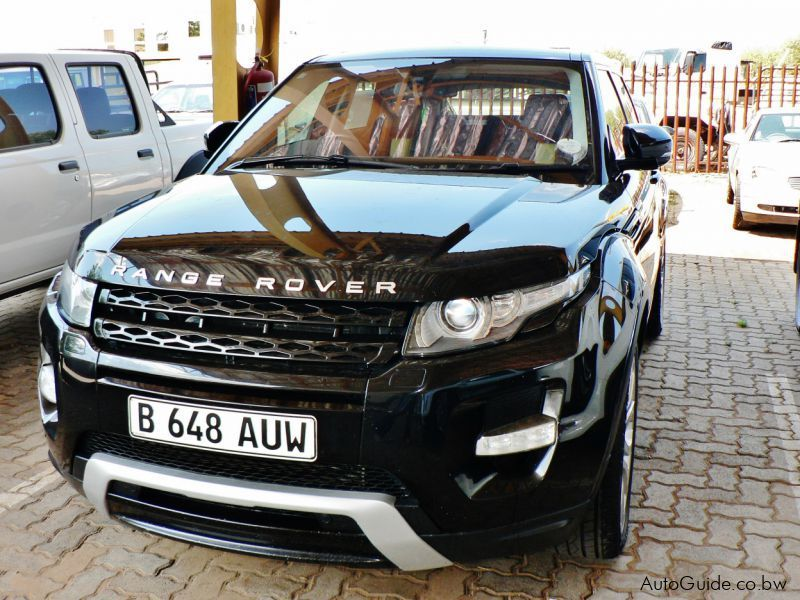 Pre-owned Land Rover Range Rover Evoque Dynamic SD4 for sale in