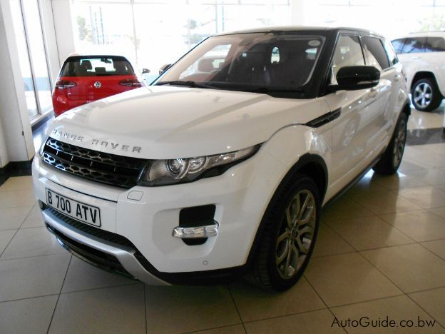 Used Land Rover Range Rover Evoque Si 4 for sale in Gaborone