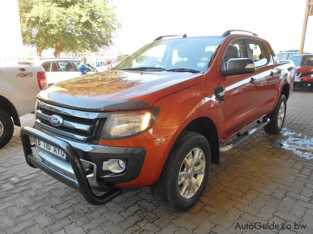 Pre-owned Ford Ranger Wildtrak  for sale in Gaborone