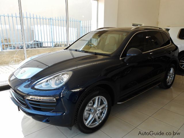 Pre-owned Porsche Cayenne S for sale in Gaborone