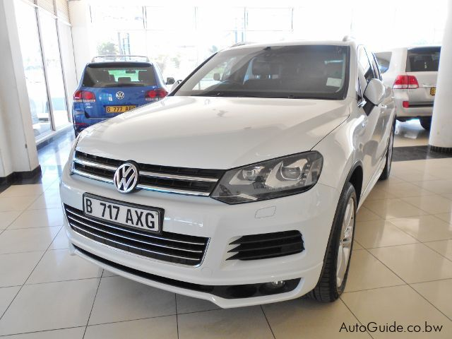 Pre-owned Volkswagen Touareg V6 TDi for sale in