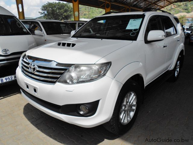 Used Toyota Fortuner for sale in Gaborone