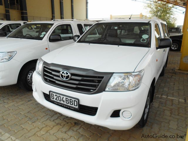 Used Toyota Hilux for sale in Gaborone