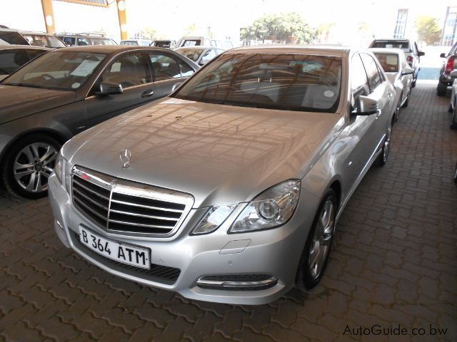 Pre-owned Mercedes-Benz E200 for sale in Gaborone