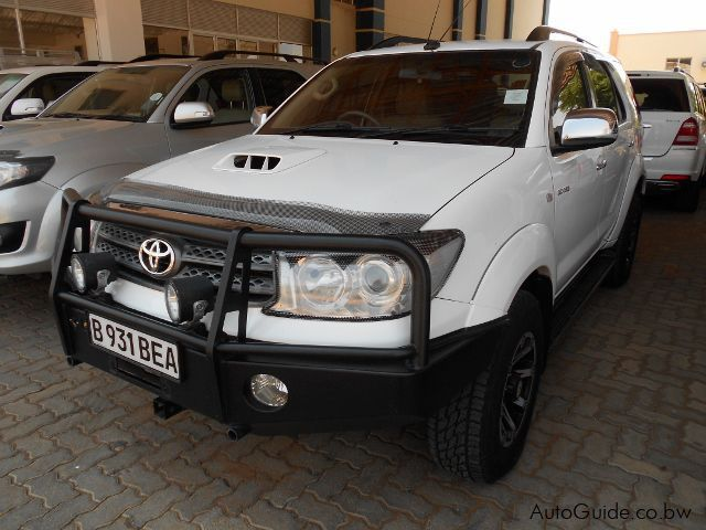 Pre-owned Toyota Fortuner for sale in Gaborone