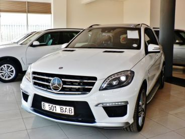 Pre-owned Mercedes-Benz ML63 AMG for sale in