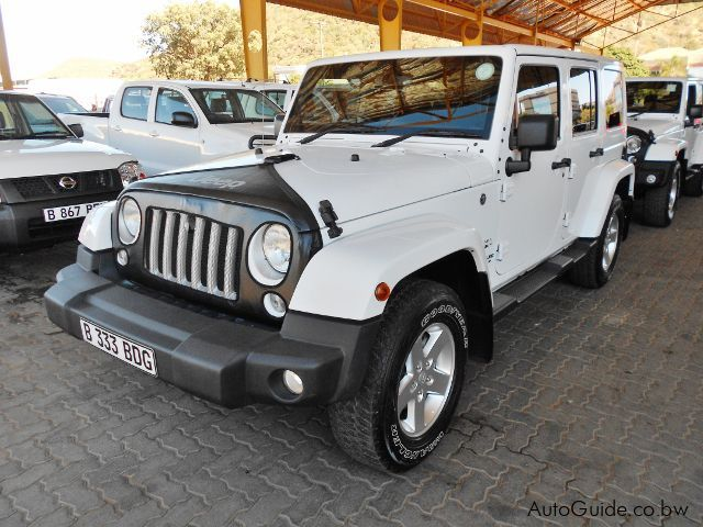 Pre-owned Jeep Wrangler  for sale in Gaborone