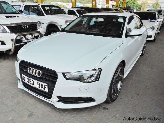 Pre-owned Audi A5 for sale in Gaborone