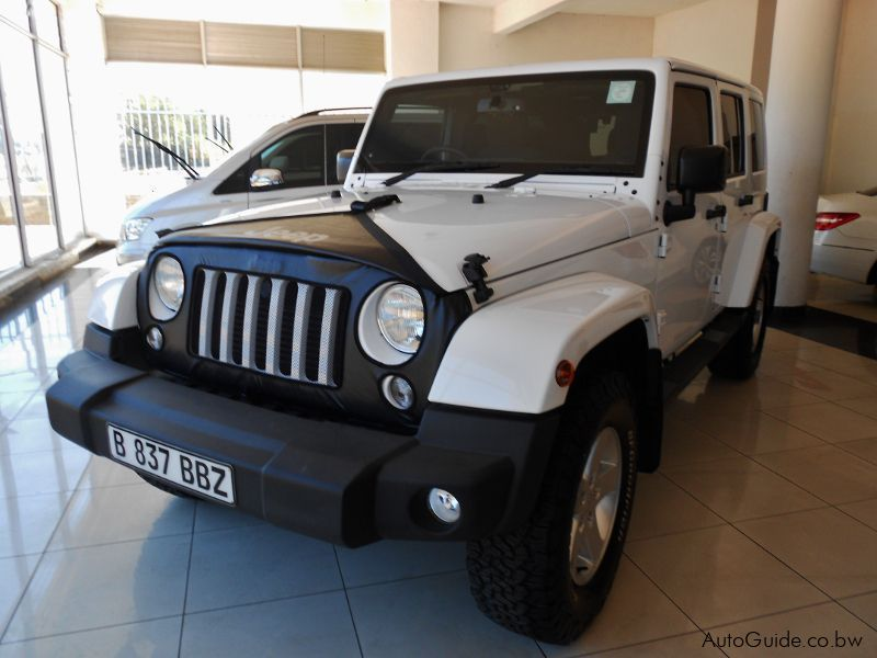 Pre-owned Jeep Wrangler CRD for sale in Gaborone