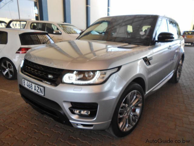 Used Land Rover Range Rover Sport Super Charge for sale in Gaborone