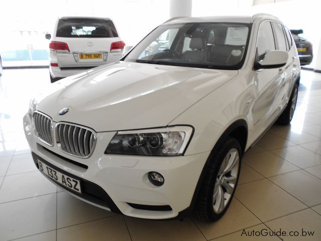 Pre-owned BMW X3 for sale in Gaborone