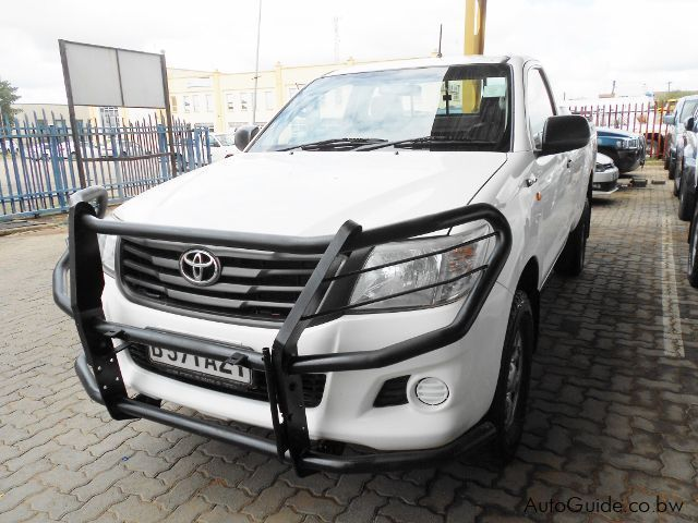 Used Toyota Hilux SRX for sale in Gaborone